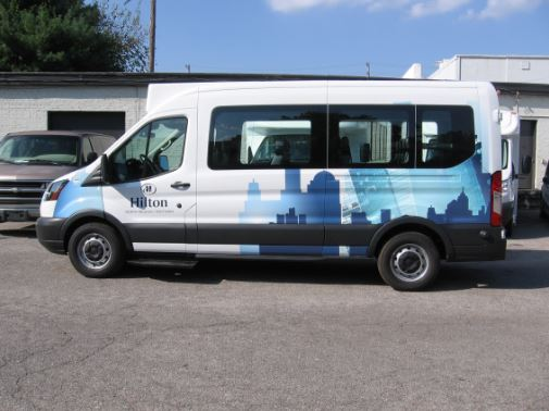 Hilton Raleigh ShuttleStar Van