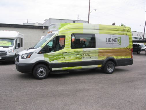 Home2 Suites ShuttleStar Van Rochester