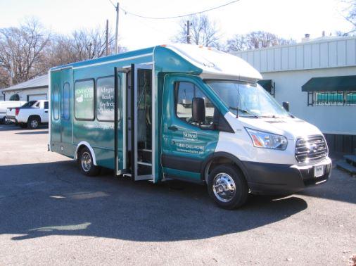 Homewood Suites Arlington C2 Transit Bus