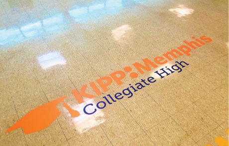 KIPP-Collegiate-Hallway-Floor-Graphic