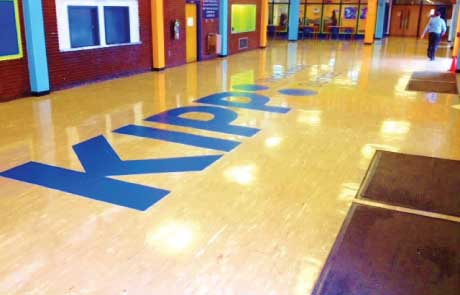 KIPP-School-Giant-Vinyl-Floor-Graphic
