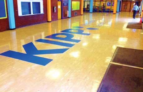 KIPP-School-Giant-Vinyl-Floor-Graphic