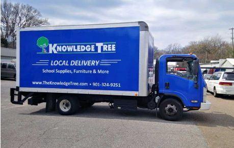 Knowledge Tree Box Truck Full Wrap
