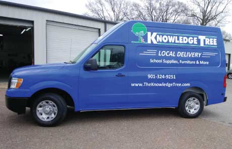Knowledge-Tree-Delivery-Van-Nissan-NV-Wrap
