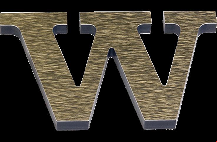 Laminated Acrylic Letter