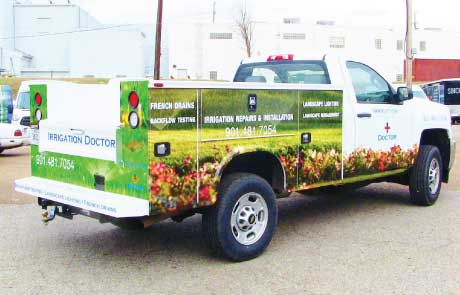 Landscaping-Truck-Wrap