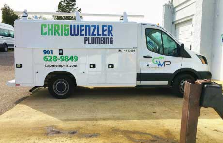 Plumbing-Truck-KUV-Wrap