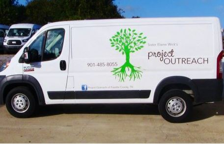 Project Outreach Promaster Van Decals