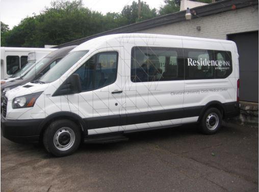 Residence Inn Cleveland Van Wrap