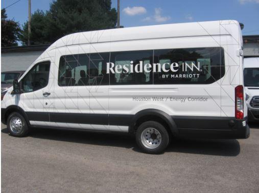 Residence Inn Houston Van Wrap