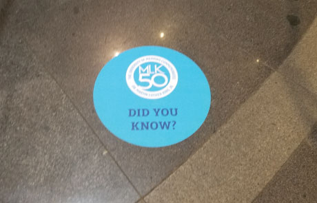 University-of-Memphis-Library-Floor-Decal