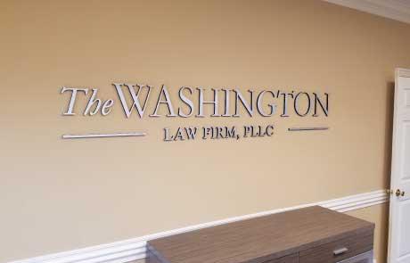 Washington-Law-Firm-Detailed-Flat-Cut-Aluminum-Letters