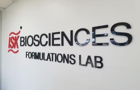 ISK-Biosciences-3D-Letters