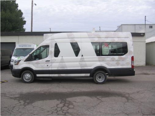 Marriott New Van Wrap 2020