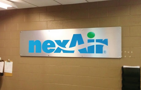 NexAir-Dibond-Panel-Sign-with-Stand-Off-Mounts