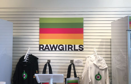Raw-Girls-Flat-Panel-Sign-Vinyl-on-Sintra