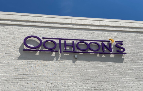 Extra Tax Formed Plastic 3D Letters For Exterior Storefront